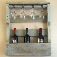 DIY wine rack custom wood pallet project by Tristan Harris