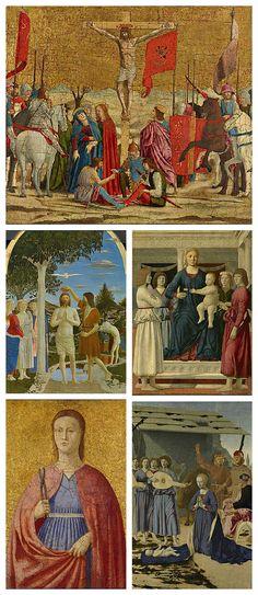 Piero della Francesca Montefeltro altarpiece