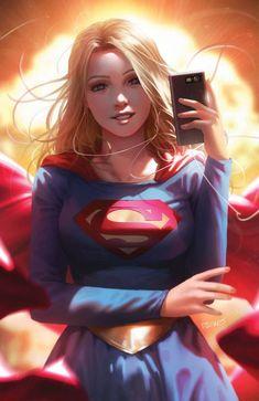 Art Cyberpunk, Dc Comics Girls, Supergirl Comic, Superman Comic, Univers Dc, Arte Dc Comics, Dc Comics Characters, Hero Girl, Comic Character