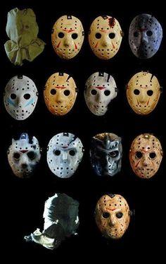 The many faces of #JasonVoorhees ! (Insert Kristen Stewart joke here.)