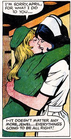 Comic art lesbians