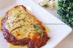 Receita de Bife à Parmegiana passo-a-passo. Acesse e confira todos os ingredientes e como preparar essa deliciosa receita!