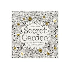 Secret Garden An Inky Treasure Hunt and Colouring Book ($14) ❤ liked on Polyvore featuring books
