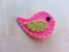 Girls/Baby Felt Hair Clip Little Felt Bird by BowtiquebyprincessT, $3.50