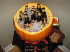 Fall decor - Pumpkin beer