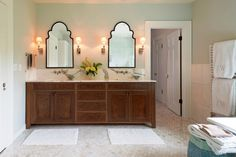 Best 27+ Bathroom Mirror Ideas to Reflect Your Style tags: bathroom mirror and lighting ideas, bathroom mirror border ideas, bathroom mirror frame ideas, bathroom mirror ideas diy, bathroom mirror ideas double vanity, bathroom mirror ideas for double sink, bathroom mirror ideas for single sink, bathroom mirror ideas home depot, bathroom mirror ideas with tile, bathroom vanity and mirror ideas,