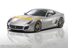 jual poster mobil Ferrari Silver. Silver Ferarri Car poster #car #ferrari #poster #jual #poster #mobil #silver