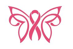 Cancer Awareness Ribbon Decal Breast Cancer Awareness Ribbon