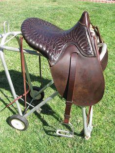 Plantation Horse Saddle - Vintage - Restored for Use #Custom