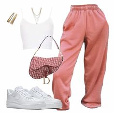 Swag Outfits For Girls, Teenage Outfits, Cute Swag Outfits, Cute Comfy Outfits, Edgy Outfits, Teen Fashion Outfits, Mode Outfits, Retro Outfits, Simple Outfits