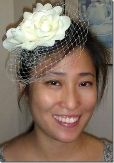 DIY Birdcage Wedding Veil  (Little girls would love it too)