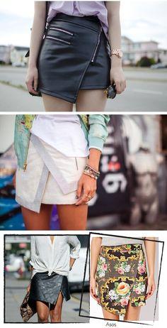 Muy estilosas y fácil de hacer para el verano...Dare to DIY: Inspiración DIY: Wrap Skirts