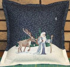 Love how she combined the background fabric to create a magical scene. Machine Embroidery Designs at Embroidery Library! - Stitchers Showcase