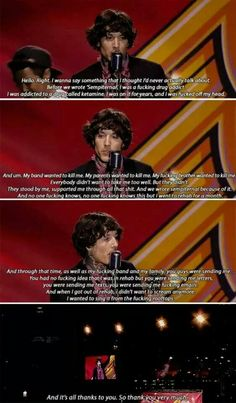 When I was watching this I fucking started crying. I love Oli, and I'm glad he got better.