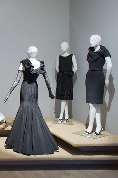Every girl needs a Little Black Dress. Oscar de la Renta perfected this look - see his designs at SCAD Museum of Art.