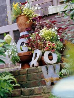 Grow sign eclecticallyvintage.com