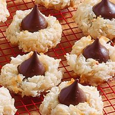 Easy Coconut Macaroons  {'A recipe with Eagle Brand was featured in magazines as early as 1919. Developed for simplicity, made and baked in minutes - no flour, baking powder, rolling or cutting'}