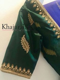 For customising your outfits - whatsapp 9133502232 Traditional Blouse Designs, Simple Blouse Designs, Stylish Blouse Design, Bridal Blouse Designs, Silk Saree Blouse Designs, Maggam Work Designs, Choli Designs, Couture, Work Blouse
