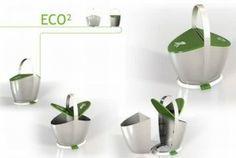 Conceptos de contenedores de reciclaje de basura de residuos con estilo