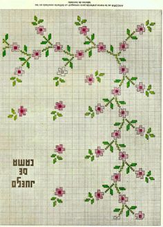 This Pin was discovered by Юли Small Cross Stitch, Cross Stitch Borders, Cross Stitch Rose, Cross Stitch Flowers, Cross Stitch Designs, Cross Stitching, Cross Stitch Embroidery, Embroidery Patterns, Hand Embroidery