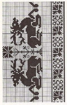 Gallery.ru / Фото #4 - монохром+жаккард - irisha-ira Cross Stitch Sampler Patterns, Cross Stitch Samplers, Cross Stitch Charts, Cross Stitch Designs, Cross Stitch Embroidery, Embroidery Patterns, Knitted Christmas Stockings, Christmas Knitting, Christmas Cross