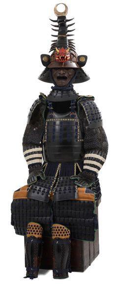 Sea creature helmet for samurai
