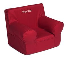 For B - Oversized Anywhere Chair Collection | Pottery Barn Kids