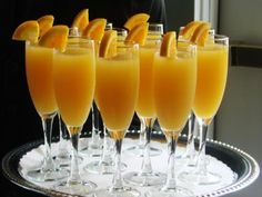 Mimosa's for breakfast!  :)