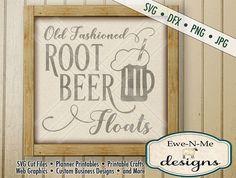 Root Beer Float SVG  kitchen svg  Old Fashioned Root Beer