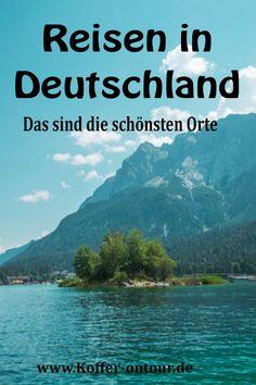 Du möchtest innerhalb Deutschland verreisen? Du weißt aber nicht so recht wohin? Hier findest du eine Übersicht der schönsten Orte in unserer Heimat. Schau mal rein! Reisen In Europa, Wanderlust Travel, Family Travel, Traveling By Yourself, Journey, Explore, Mountains, Tricks, World