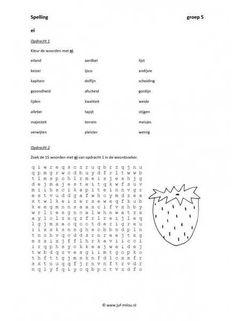 Dit werkblad en nog veel meer in de categorie spelling - ij en ei kun je downloaden op de website van Juf Milou.