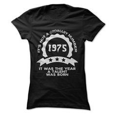 1975 It was the year a Talent was born