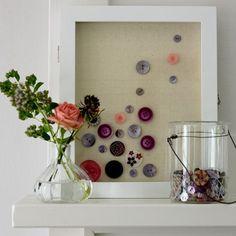 loisirs-créatifs-bricolage-facile-boutons-étagères-décoration