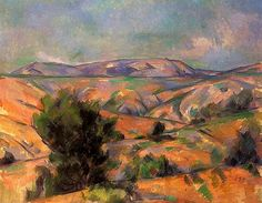 Mount Sainte-Victoire Seen from Gardanne, 1886 Paul Cezanne