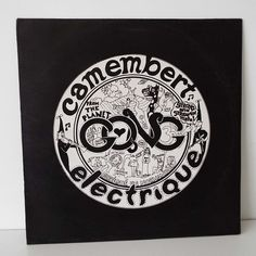 Rare Vintage 1974 Gong Camembert Electrique Vinyl Record LP Space Rock Pysch Prog Rock UK Pressing by VintageBlackCatz on Etsy