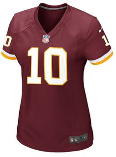 Ladies Nike Game Home Robert Griffin III Jerseys at RedskinsTeamStore.com