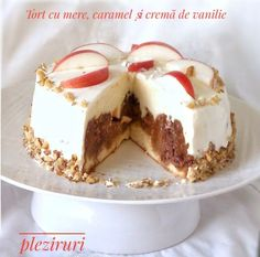 Romanian Desserts, Just Cakes, Caramel, Sweet Treats, Cheesecake, Dessert Recipes, Food And Drink, Pudding, Cookies