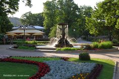 Idyll of Riga's garden.