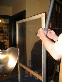 Bangor Bungalow: Storm windows: how we built them Sunroom Windows, Diy Home Repair, Storm Windows Diy, Home Repair, Storm, Window Repair, Window Insulation, Window Restoration, Interior Wood Shutters