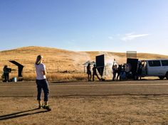 First Day of Shoot in Terra Bella, CA