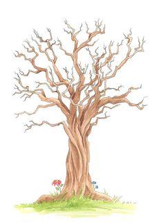 Der wunderschöne handgemalter Wedding-Tree ist eine originelle Geschenkidee für das Brautpaar als Andenken an die Hochzeitsgäste. Jeder Gast stempelt seinen Fingerabdruck mit Stempelfarbe auf die leeren Zweige des Baum und schreibt seinen Namen rein. Zum Schluss ist ein