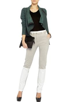 T by Alexander Wang Cotton-blend and canvas pants - 55% Off Now at THE OUTNET