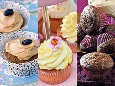 Wir lieben den luftige Cupcake-Teig und das cremige Frosting. Ob mit Kirschen, Schokolade oder ganz einfach: Hier finden Sie unsere besten Cupcake-Rezepte.