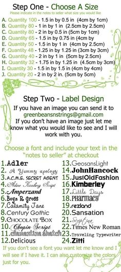 Organic Custom Fabric Labels Sew On by greenbeansnstrings on Etsy, $20.00