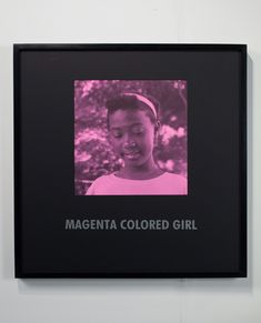 Carrie Mae Weems, 'Magenta Colored Girl,' 1997, Jack Shainman Gallery