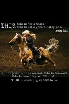 this is barrel racing.