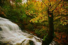Minnehaha Falls in Rabun County, Georgia.
