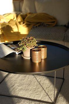 My livingroom. Lovely autumn light.