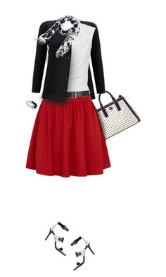 """""""School Girl Charm"""" by vonshelman ❤ liked on Polyvore featuring Tory Burch, Wallis, Alice + Olivia, Rick Owens, Barneys New York, Trilogy, MICHAEL Michael Kors, White House Black Market, women's clothing and women's fashion"""