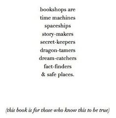 The Bookshop Book by Jen Campbell | Community Post: 26 Of The Greatest Book Dedications You Will Ever Read